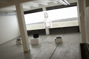 Jonas Lindstroem I AM – I SEE, video installation, 16:11 min (TISSUE Ultra 3 exclusive/premiere)
