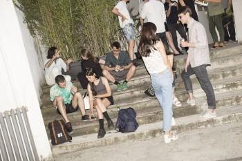 Visitors infront of Marsèlleria Permanent Exhibition