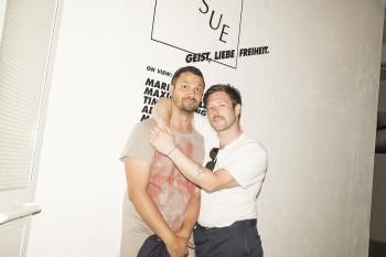 Mirko Rizzi (Marsèlleria) and Uwe Jens Bermeitinger (TISSUE Magazine)