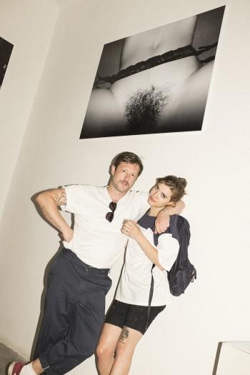 Martina Pontiggia (Marsèlleria) and Uwe Jens Bermeitinger under Oliver Zahm's picture.